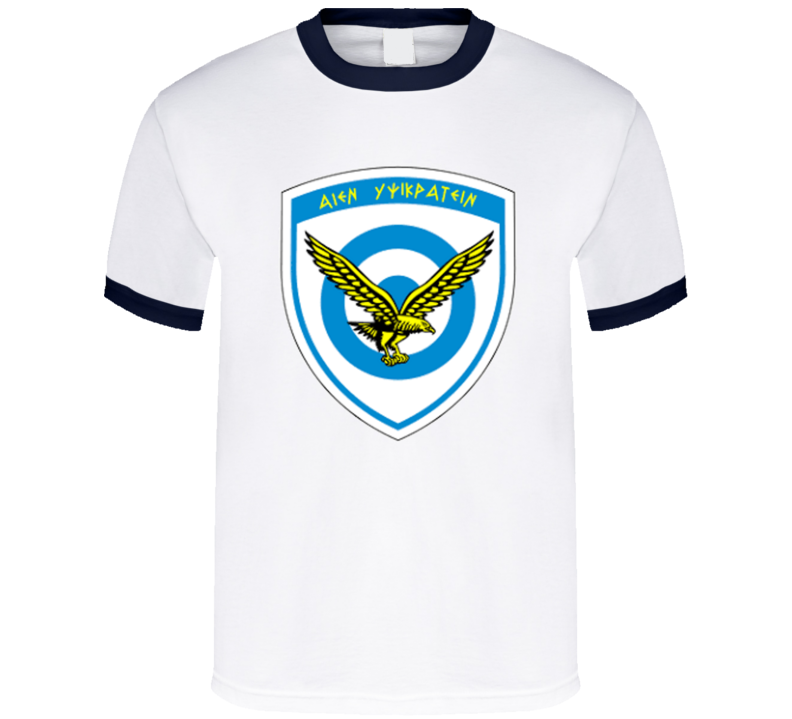 Hellenic Greek Air Force T Shirt