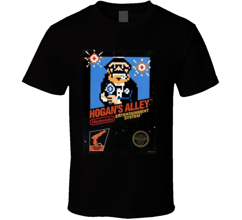 Hogans Alley Nes Retro Video Game T Shirt