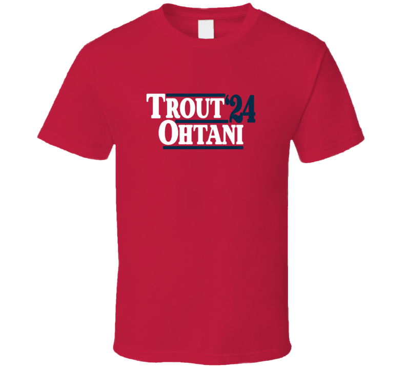 Trout Othanie Anaheim Election Style Baseball T Shirt