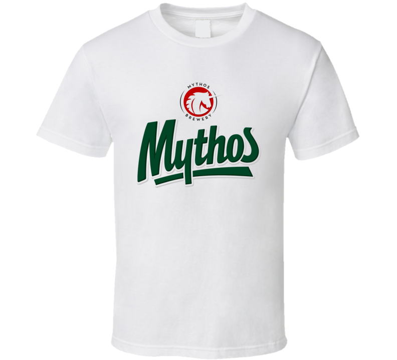 Mythos Greek Hellenic Brewery Beer T Shirt