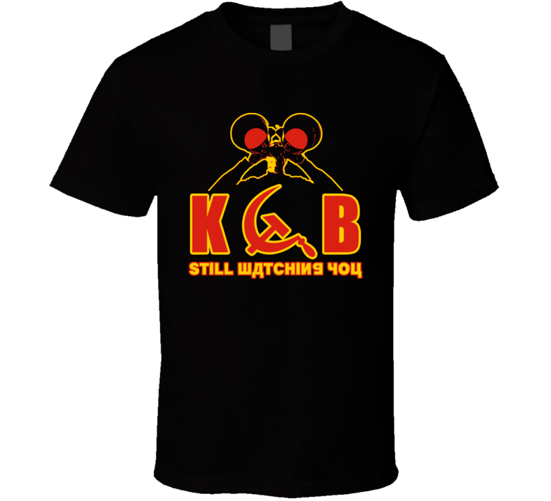 Kgb Still Watching You Cold War Funny T Shirt