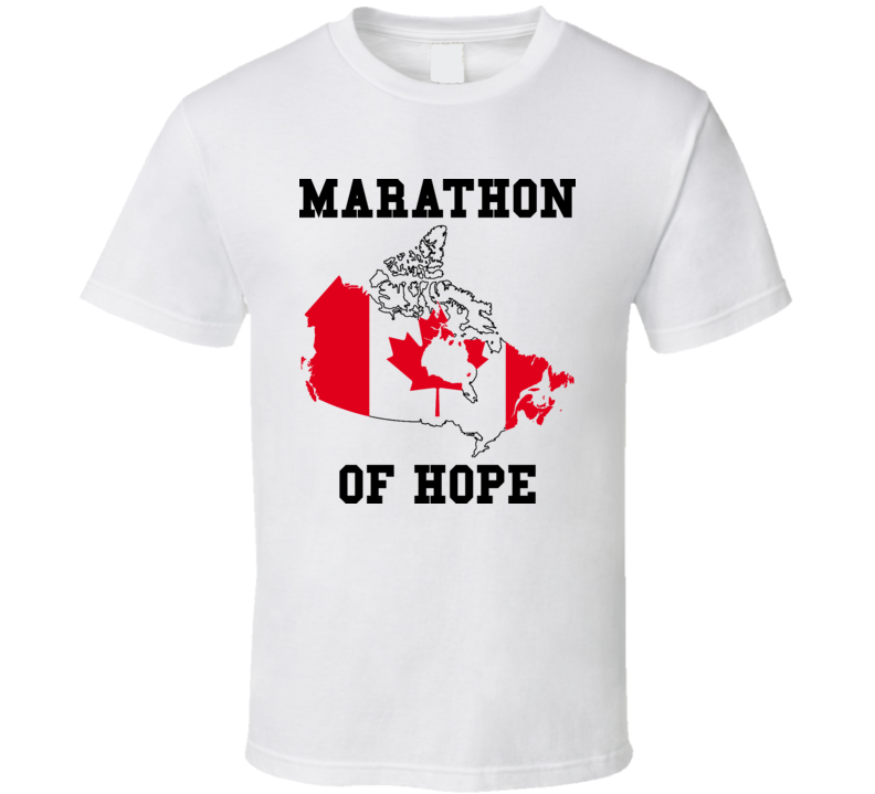 Terry Fox Marathon Of Hope T Shirt