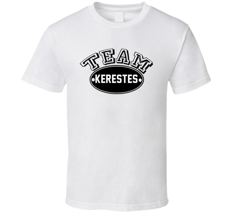 Team Kerestes Family Reunion Last Name Sports T Shirt