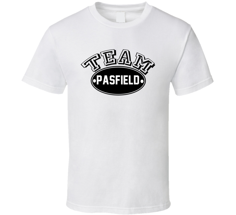 Team Pasfield Family Reunion Last Name Sports T Shirt