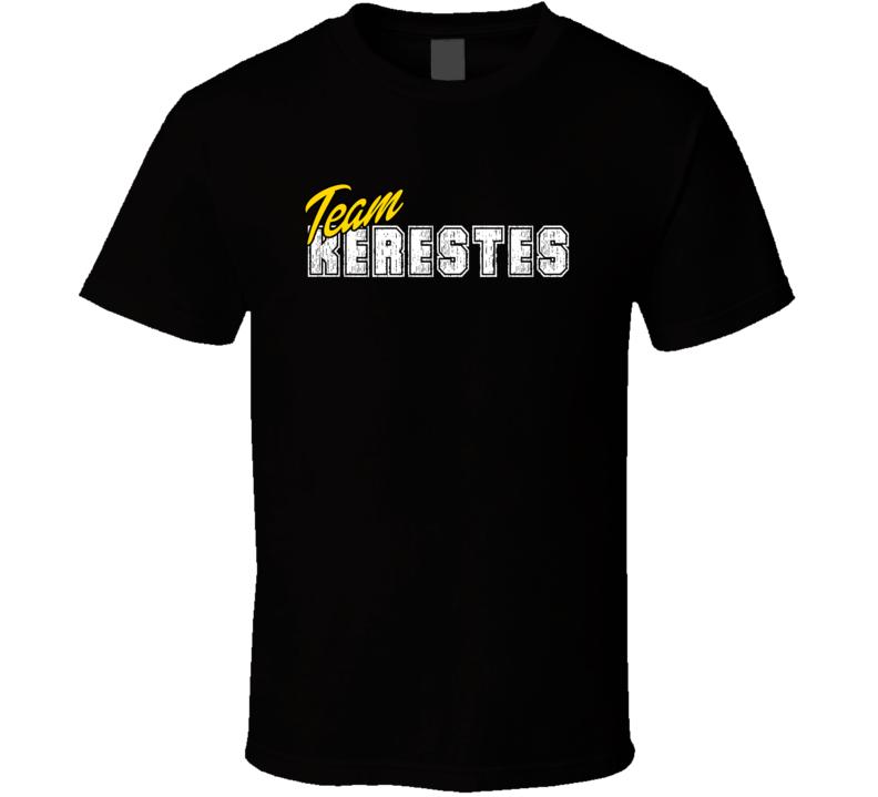 Team Kerestes Cool Custom Family Sports Last Name Reunion T Shirt