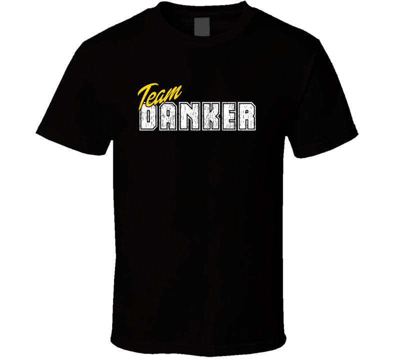 Team Danker Cool Custom Family Sports Last Name Reunion T Shirt