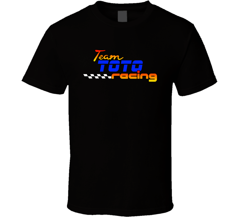 Toto Team Racing Personalized Racing Cool T Shirt