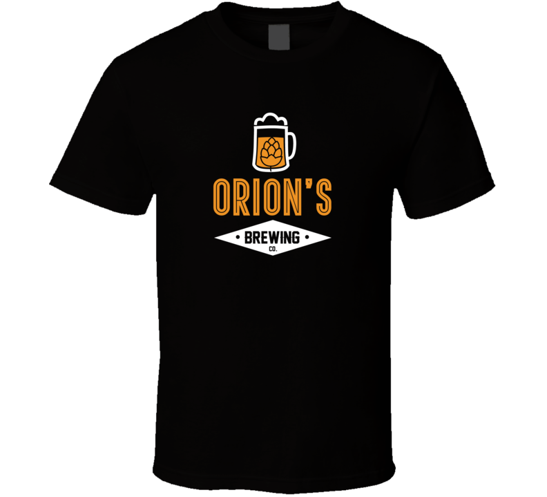 Orion's Brewing Company Cool Personalized Party T Shirt