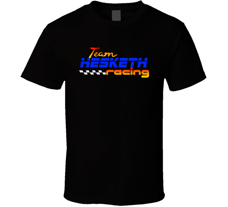 Hesketh Team Racing Personalized Racing Cool T Shirt