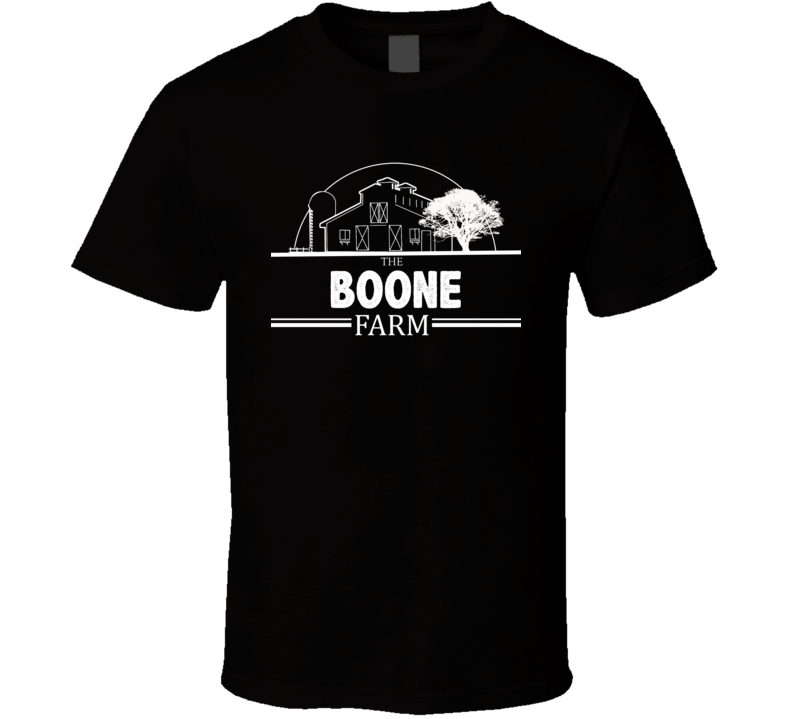 The Boone Farm American Family Rural Farm T Shirt
