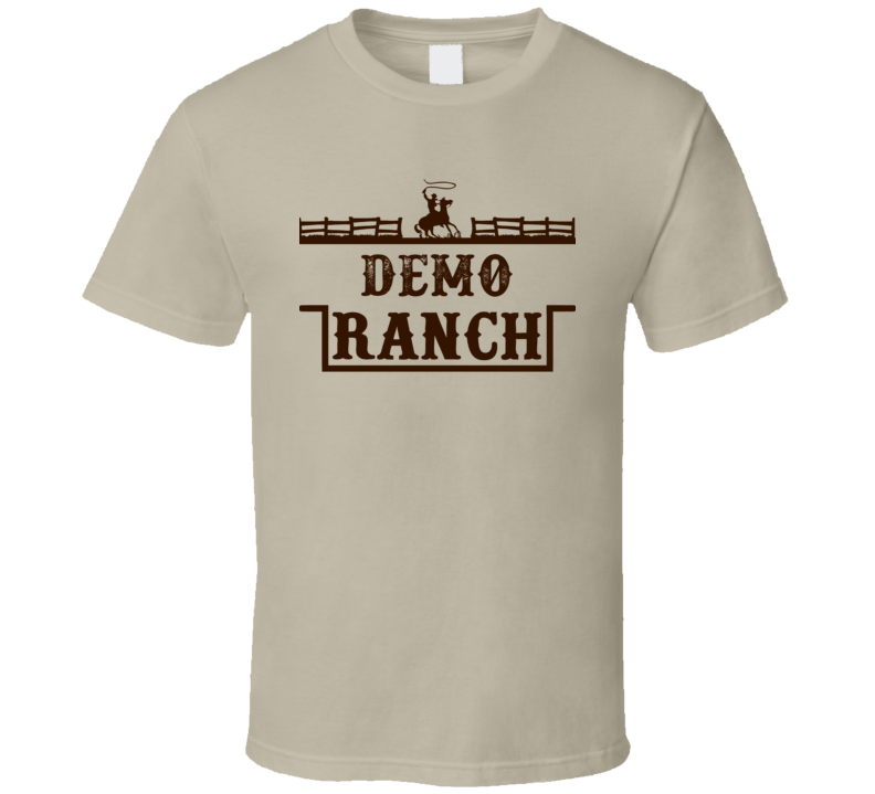 Demo Ranch All American Family Ranch Cool T Shirt