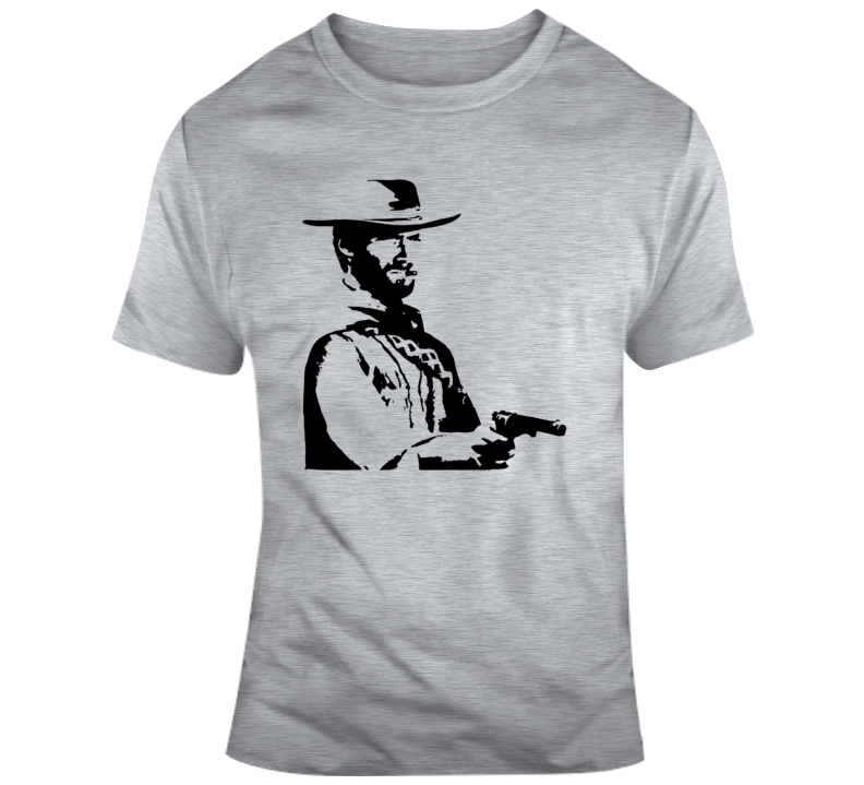 The Good The Bad And The Ugly Film T Shirt Clint Eastwood 60s Epic Western Z101