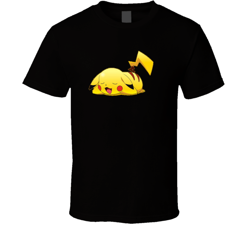 New Tired Pikachu T Shirt