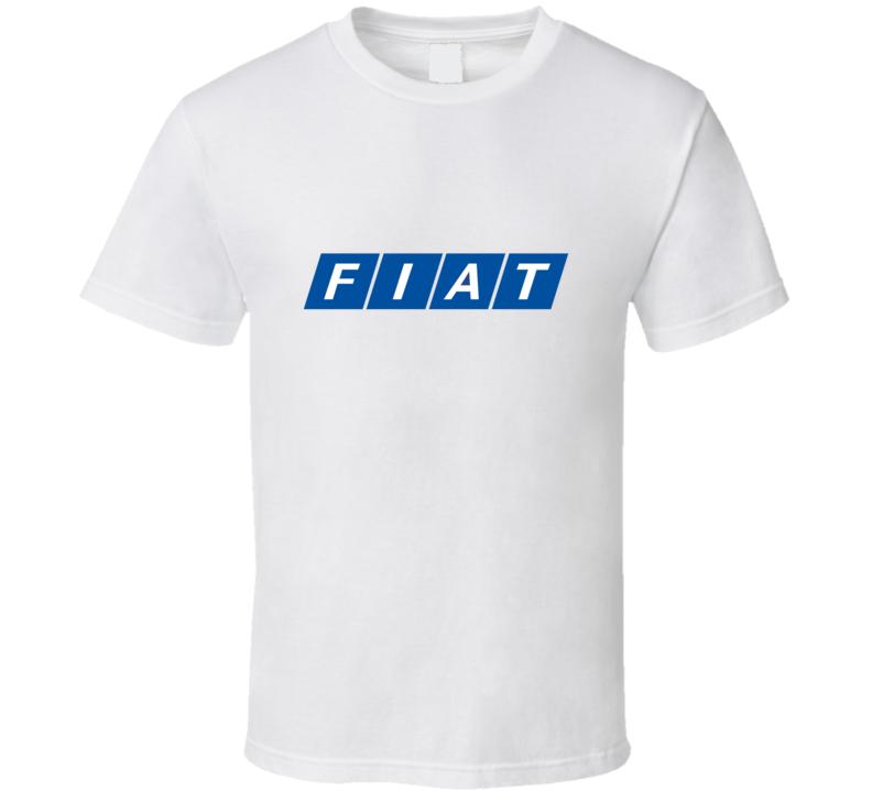 New Fiat Old Vintage Logo Car T Shirt