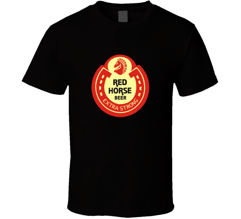 New Red Horse Extra Strong Filipino Beer T Shirt