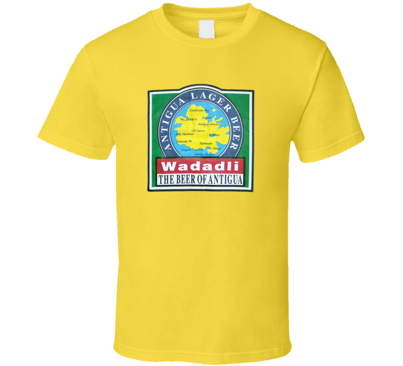 New Wadadli Beer Antigua Lager Brewed T Shirt
