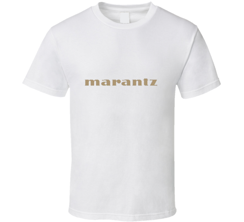 New Vintage Marantz Amplifier Amp Stereo Audio T Shirt