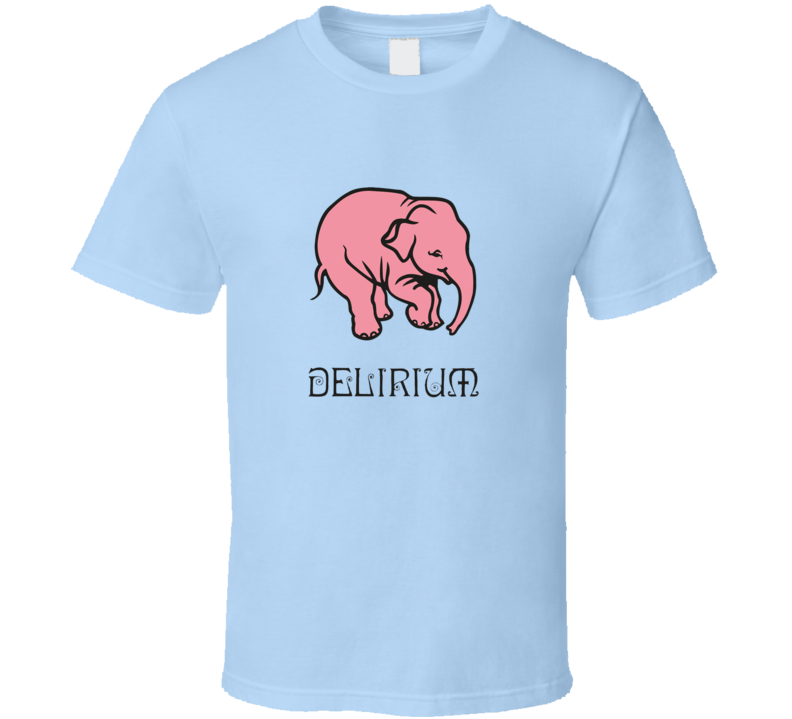 New Delirium Tremens Belgium Golden Ale Beer T Shirt