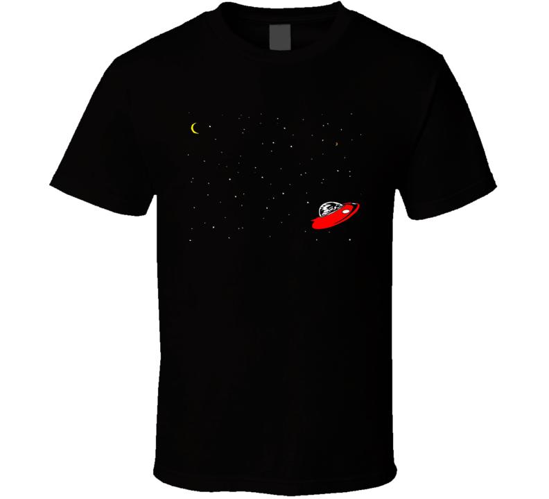 Spaceman Spiff Calvin And Hobbes Cartoon T Shirt