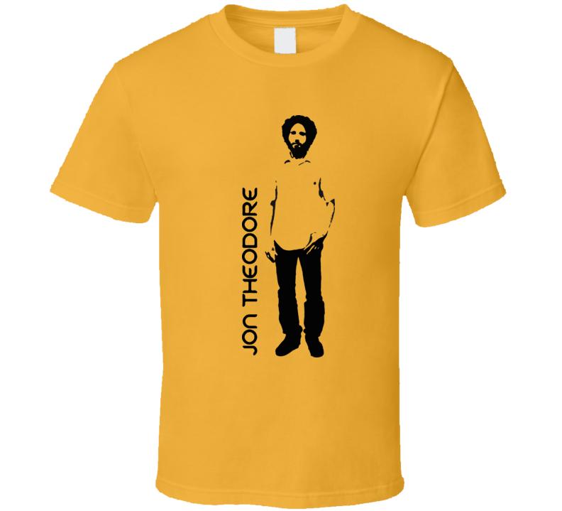 Jon Theodore Rock Drummer Music T Shirt