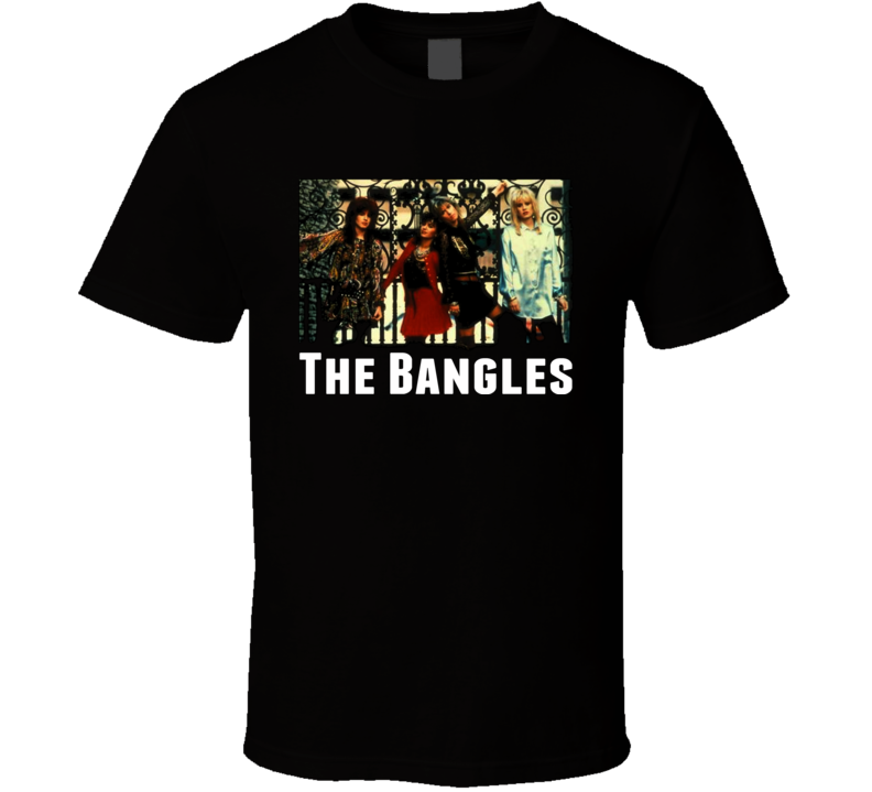 The Bangles 80s Music group T Shirt