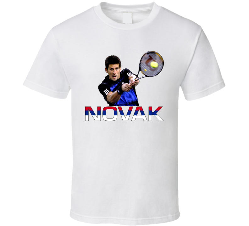 Novak Djokovic Tennis T Shirt