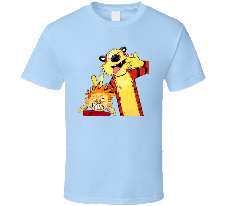 Calvin And Hobbes Funny Faces T Shirt