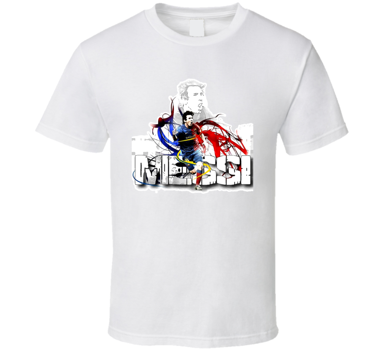New Lionel Messi Soccer T Shirt