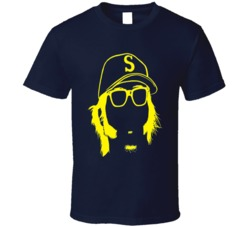 Larry Bernandez King Felix Seattle Baseball T Shirt
