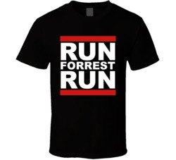 Run Forest Run Forrest Gump T Shirt