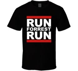 Run Forest Run Forrest Gump T Shirt