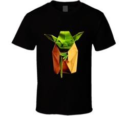 Yoda Origami T Shirt