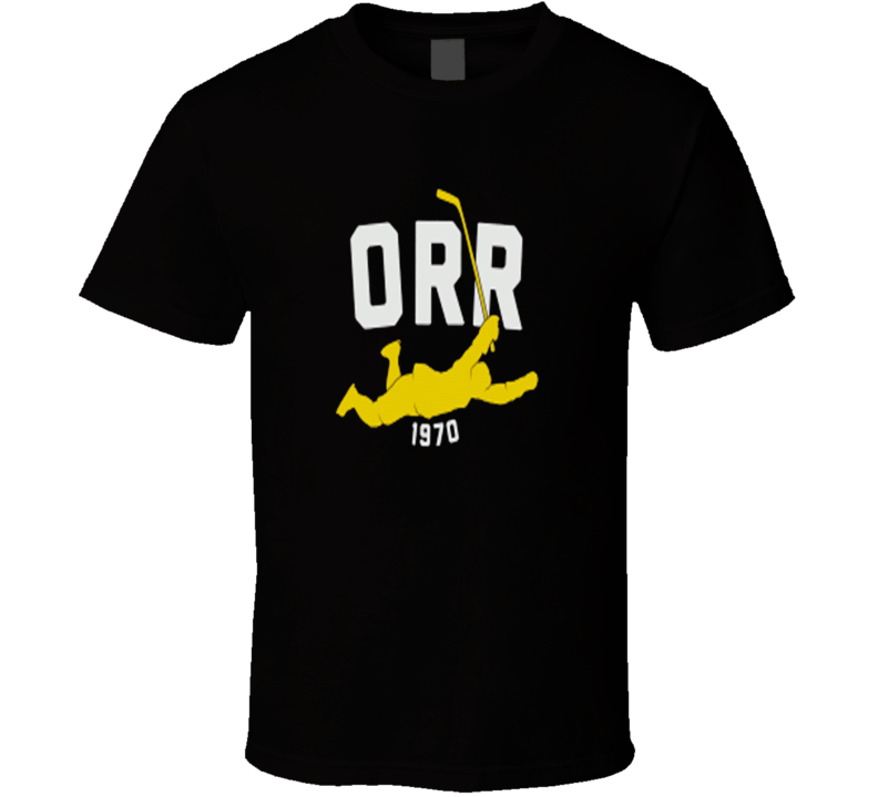 Bobby Orr 1970 Dive Legend Hockey T Shirt