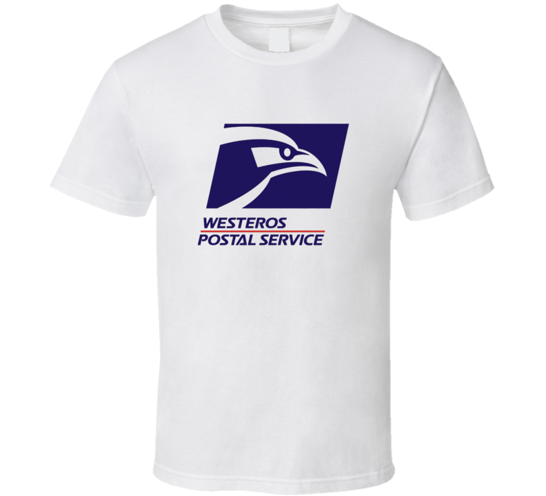 Game Of Thrones Westeros Postal Service T Shirt
