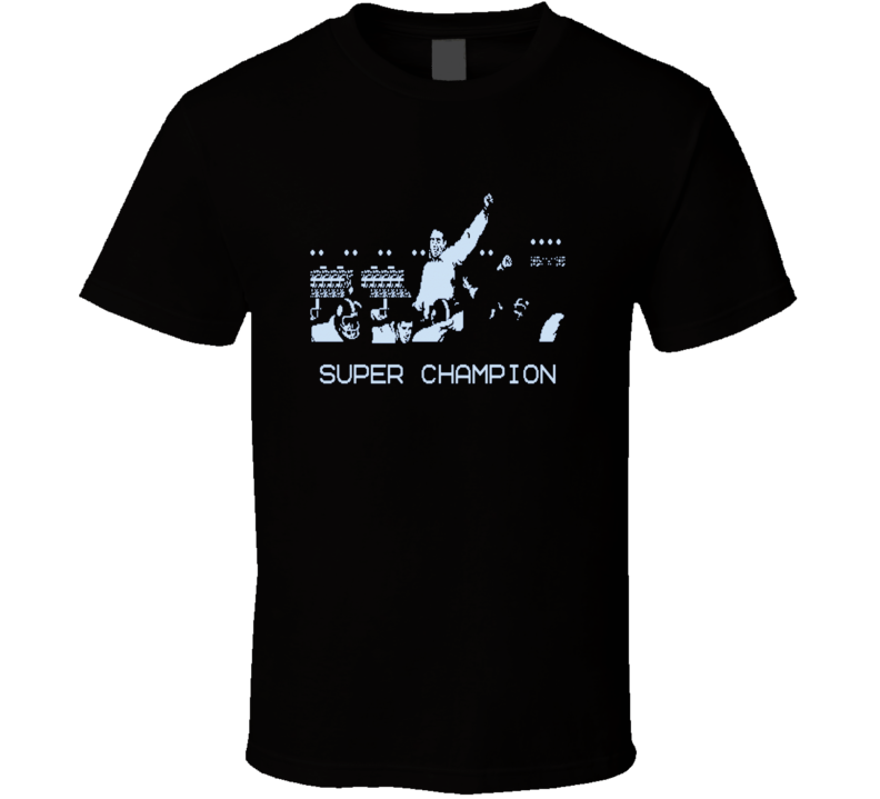 Tecmo Bowl Super Champion Retro Video Game T Shirt