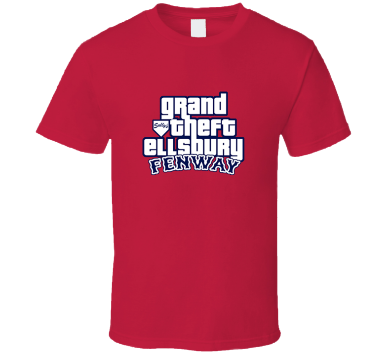 Jacoby Ellsbury Grand Theft Ellsbury Baseball T Shirt