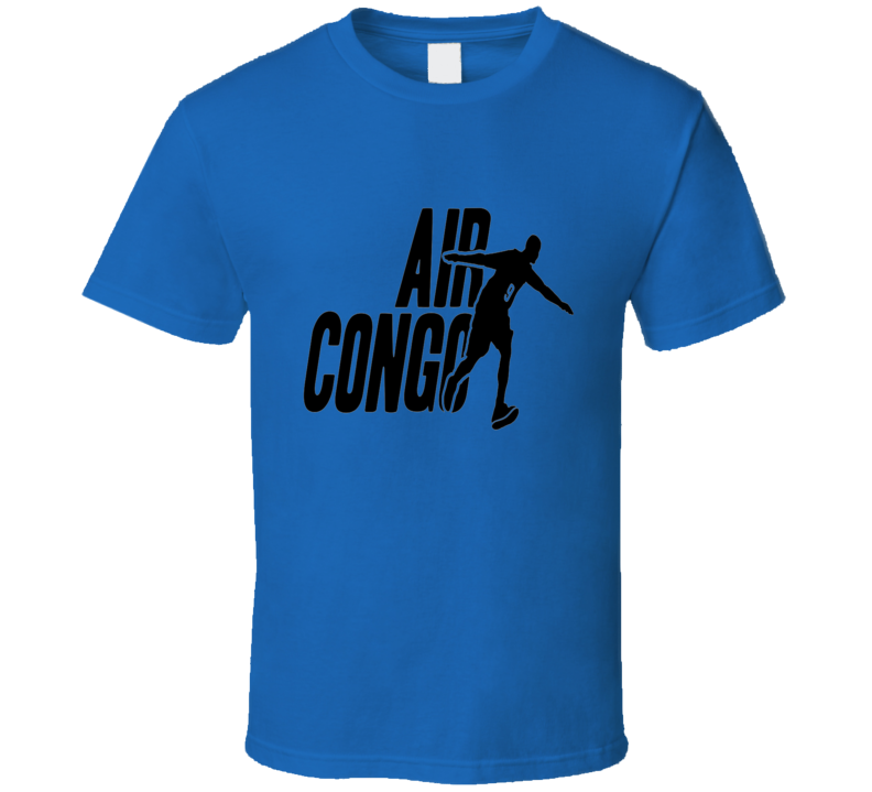Serge Ibaka Air Congo OKC Basketball T Shirt