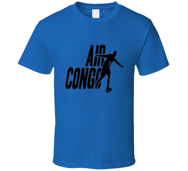 Serge Ibaka Air Congo OKC Basketball T Shirt