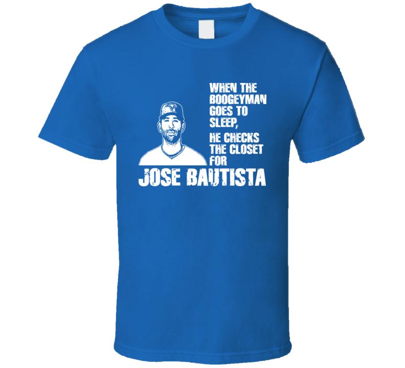 Jose Bautista Boogeyman Toronto Baseball T Shirt