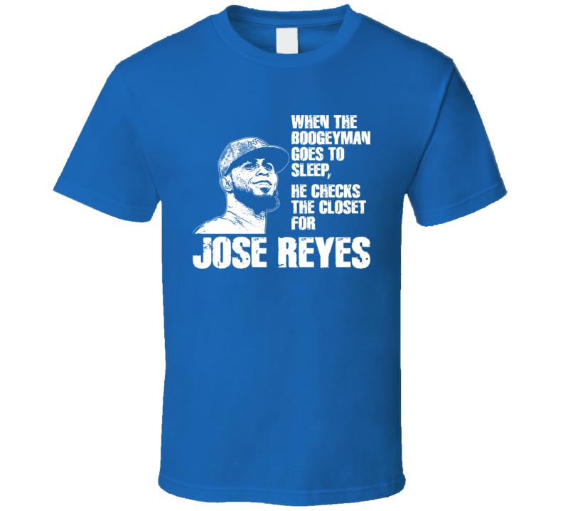 Jose Reyes Boogeyman Toronto Baseball T Shirt