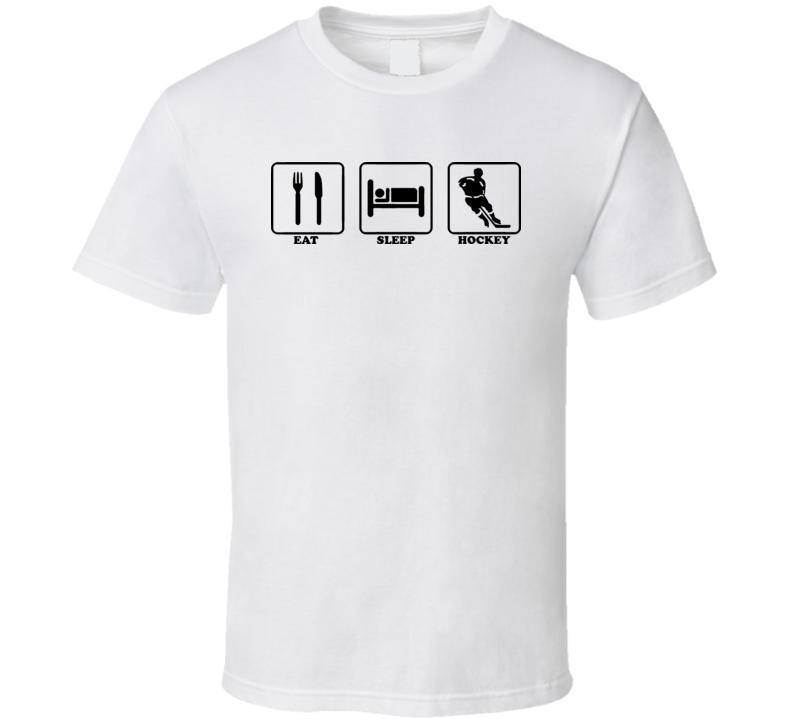 Eat Sleep Hockey T Shirt