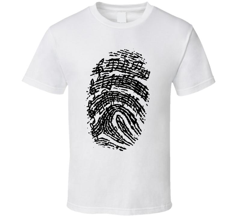 Music Prints T Shirt