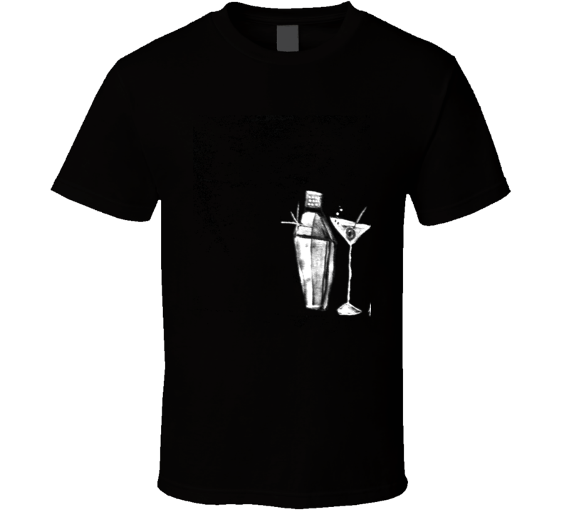 Martini Nights T Shirt