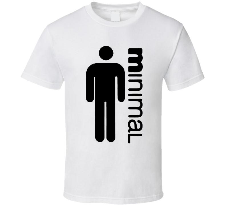 Minimal Man T Shirt
