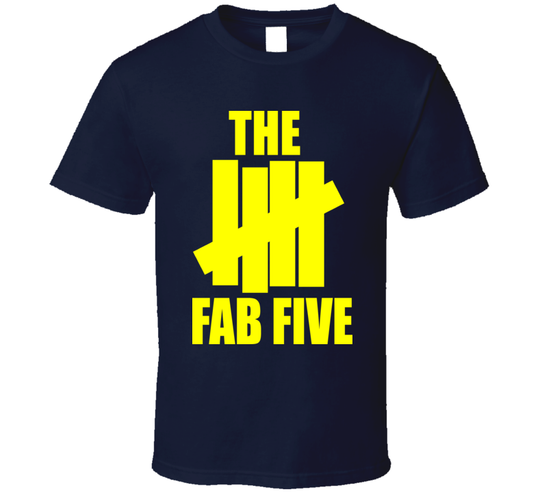 The Fab Five T Shirt