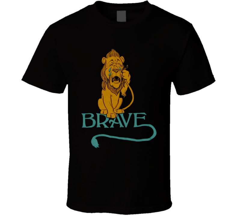 Brave Lion T Shirt