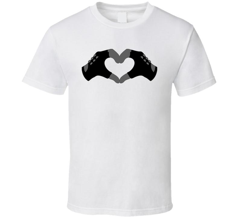Heart Sign Valentine Rock T Shirt