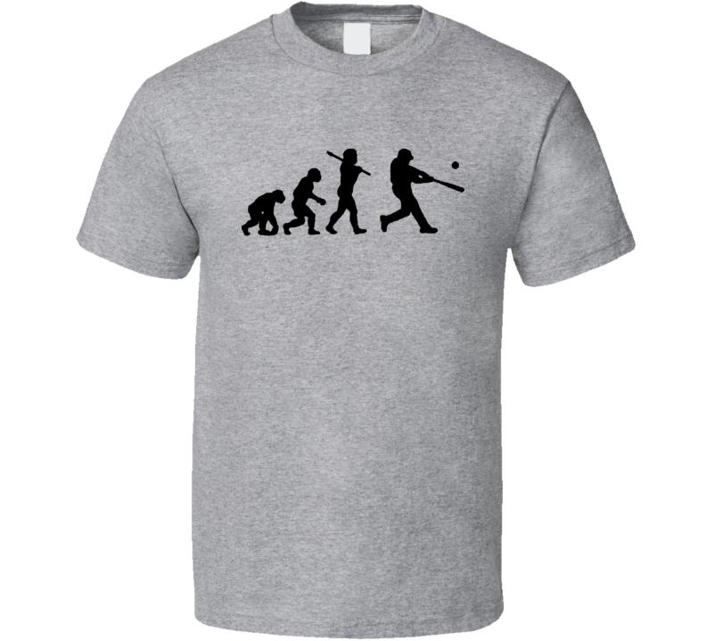 Baseball Evolution T Shirt