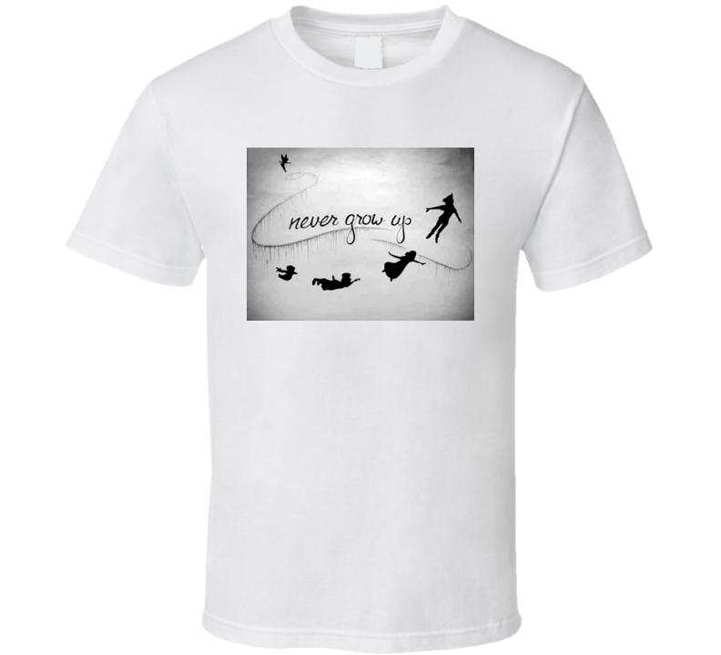 Never Grow Up T Shirt