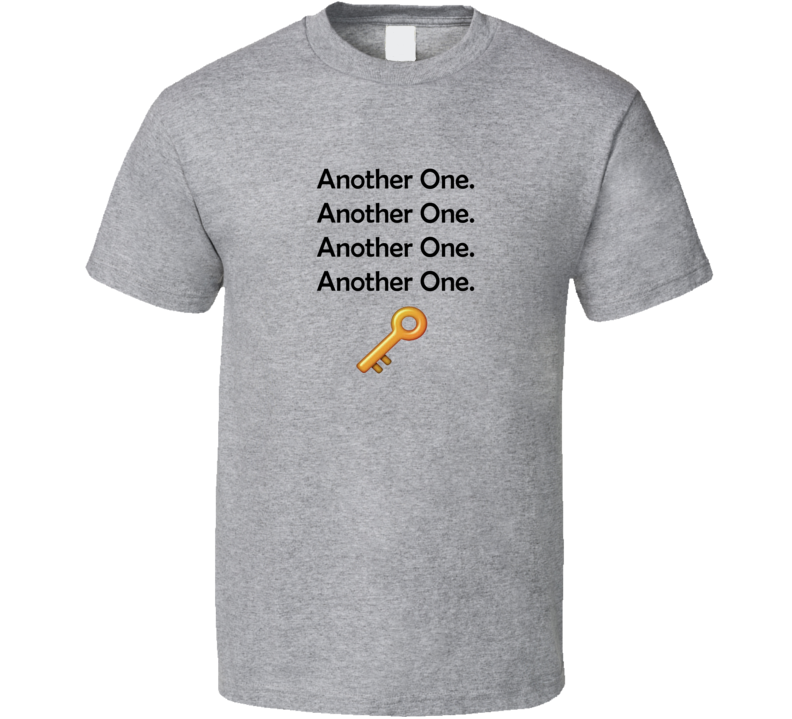 DJ Khaled The Key Another One Four T Shirt